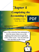 Completing the Accounting Cycle ppt