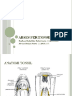 Abses Peritonsil (1)