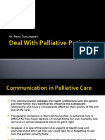 deal with palliative patient