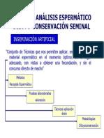Tema 18.- Análisis espermático. Dilución y conservación seminal.