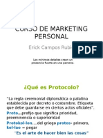 Curso de Marketing Personal