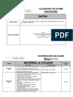 Info Exames