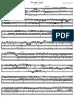 Toccata e Fuga in Re Minore BWV 565 (Johann Sebastian Bach)