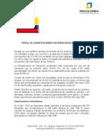 Perfil de Logistica Desde Colombia Hacia Ecuador