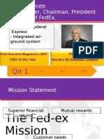 [Thurs] FedEx Presentation