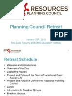 Retreat Presentation Draft 012710mgl
