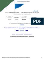 TODO1 Empresas - Boton de Pago - Confirmación