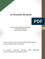 5.La Formación Del Plural