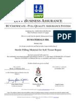 Neauvia CE Certificate