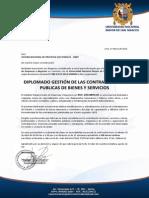 Diplomado Contrataciones Del Estado - Lima 25 Abril