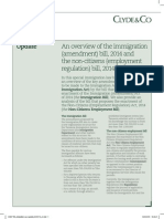 TZ - Clyde&Co Immigration Updater Mar 2015