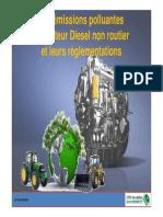 1 Les Émissions Du Moteur Diesel Non Routier Et Leurs Règlementations