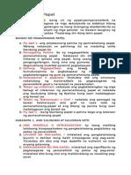 Panahonang Papel o Term Paper Sjcc