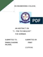 Abstract Fr Seminar