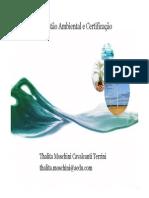 Sistema de Gestão Ambiental e Certificação