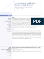 Doença Periodontal e complicações obstétricas