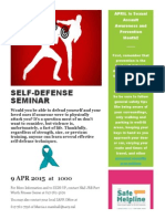 SELF Defense Flyer