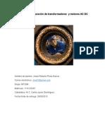 Análisis y Reparación de Transformadores y Motores AC DC