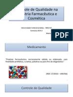 Controle de Qualidade na Indústria Farmacêutica e Cosmética.pdf