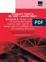 Designers' Guide to en 1998 - Seismic Actions and Design (2005)