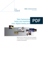 Tata Communications Global Media and Entertainment Brochure