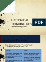 historical inquiry concepts pecha kucha review document