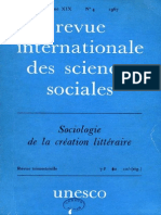 Revue international des sciences sociales