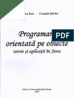 Programare Orientata Pe Obiecte Alexandru Ene
