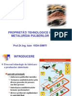 Curs Proprietati Tehnologice in Metalurgia Pulberilor