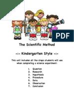 Scientific Method Kindergarten Style