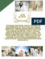 Traditiile Nuntii Moldovenesti