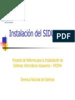Instalación SIDUNEA++