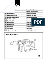 makita hr4000c parts manual