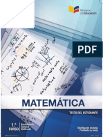 Libro Alumno Matemática 1