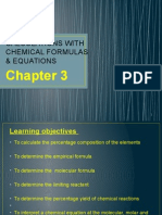 Chapter 3 -Calculations With Chemical Formulas (1)