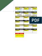 Cronograma de Estudos Modelo