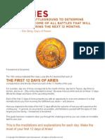 12 Days Aries