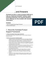 Product Support Framework FAQ