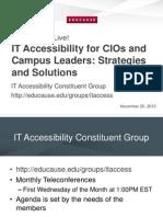 Accessibility Edu Cause