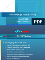 Voice Range Profile