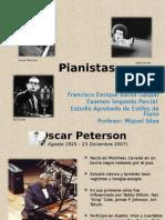 Pianistas Jazz (Biografías y algo de su obra)