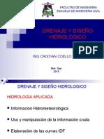 Drenaje y Diseño Hidrológico