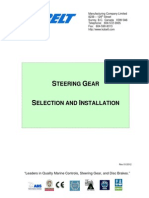 Steering Gear Selection and Installation Manual