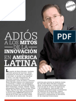Articulo Adios a Los Mitos de La Innovacion