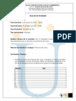 Guia de Actividades Actividad 2. 2015-1