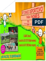 Afiche 2do Torneo de Padres