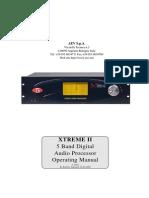 AEV XtremeII User Manual