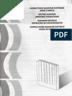 Delonghi Navi 1000 User manual