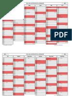 Kalender Halbjahr 1 2014