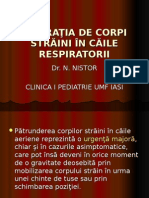 Aspir. de Corpi Straini